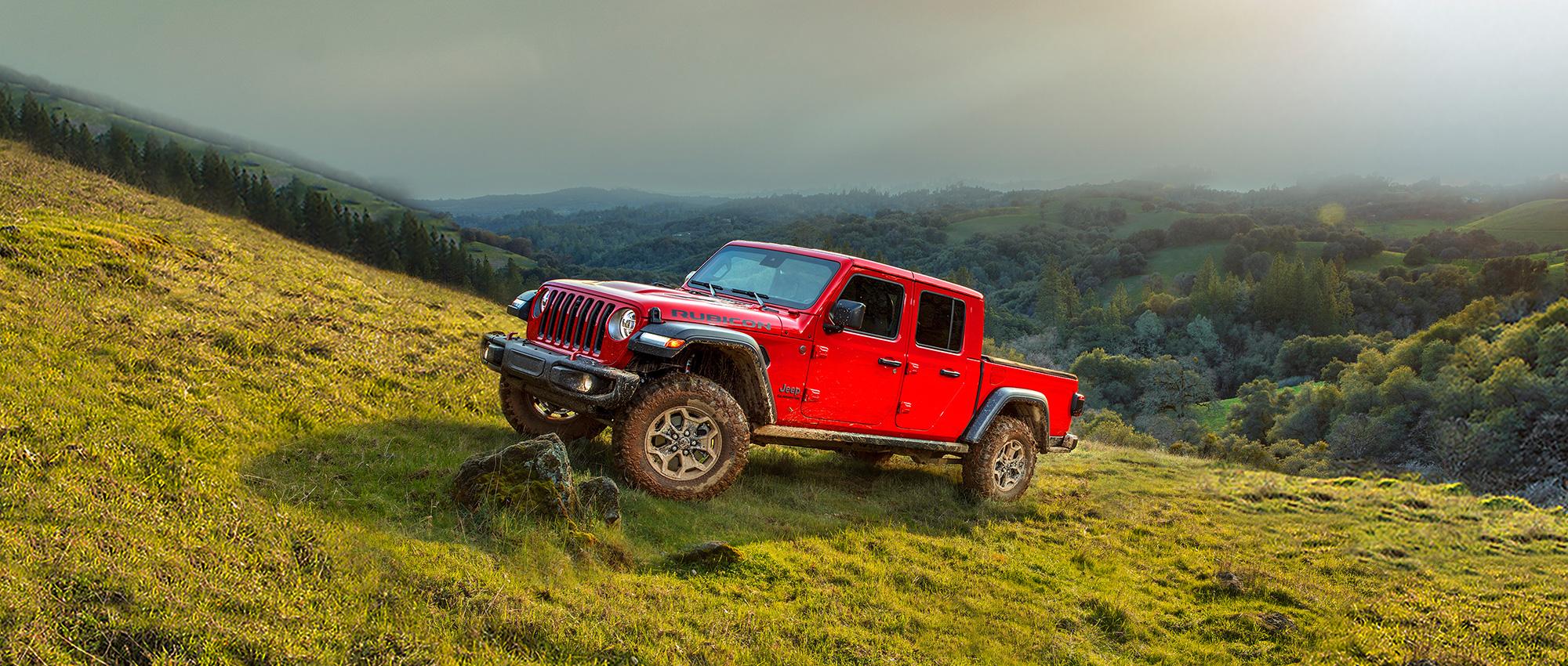 Jeep Gladiator. Please Register Your Interest Below