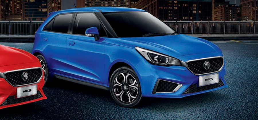Finance a new MG3 Auto Excite