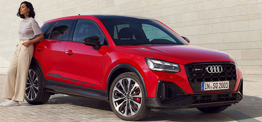 Turn heads with the new Audi SQ2.