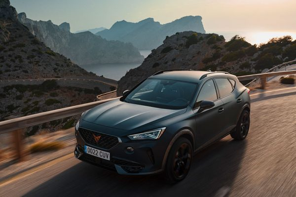 new cupra formentor compact suv magnetic tech matte colour on th